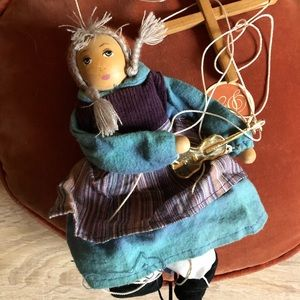 Other - BNWT Marionette string puppet wood toy waldorf